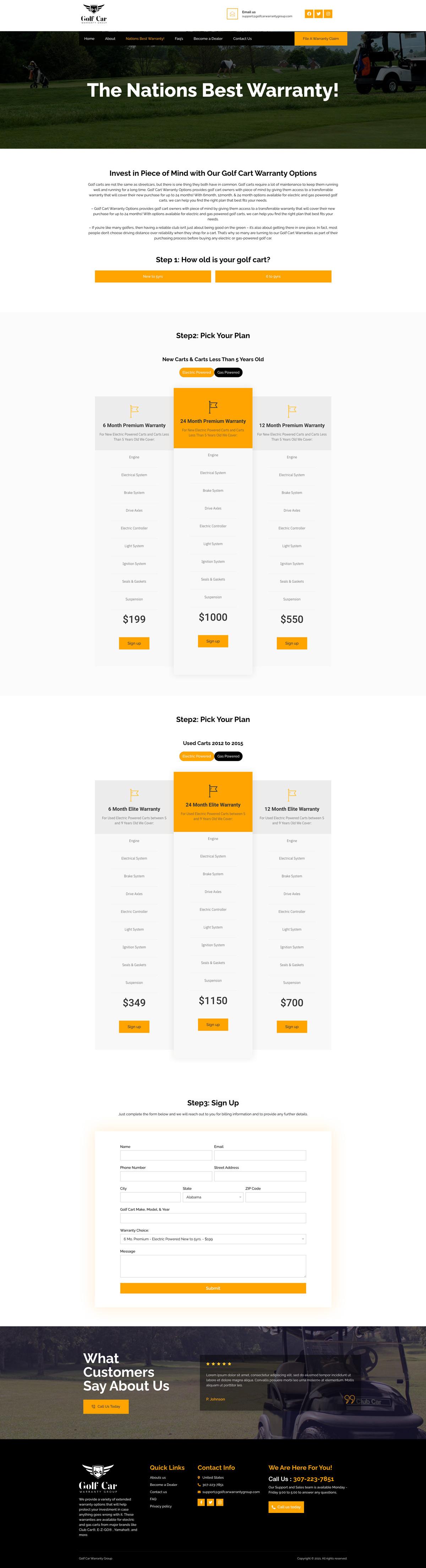 golf-cart-website--design-2